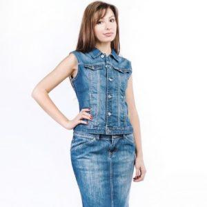 Джинсовая юбка — одежда вне времени